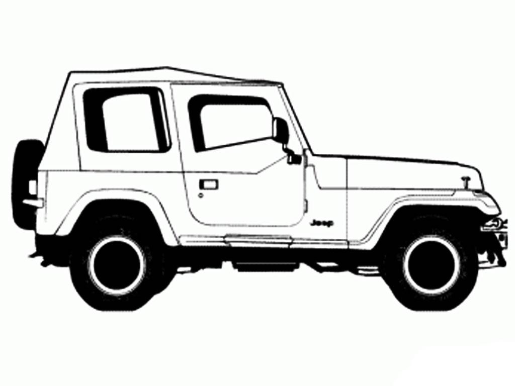 28 Hits Sketsa Mobil Jeep Terlengkap Hobisket