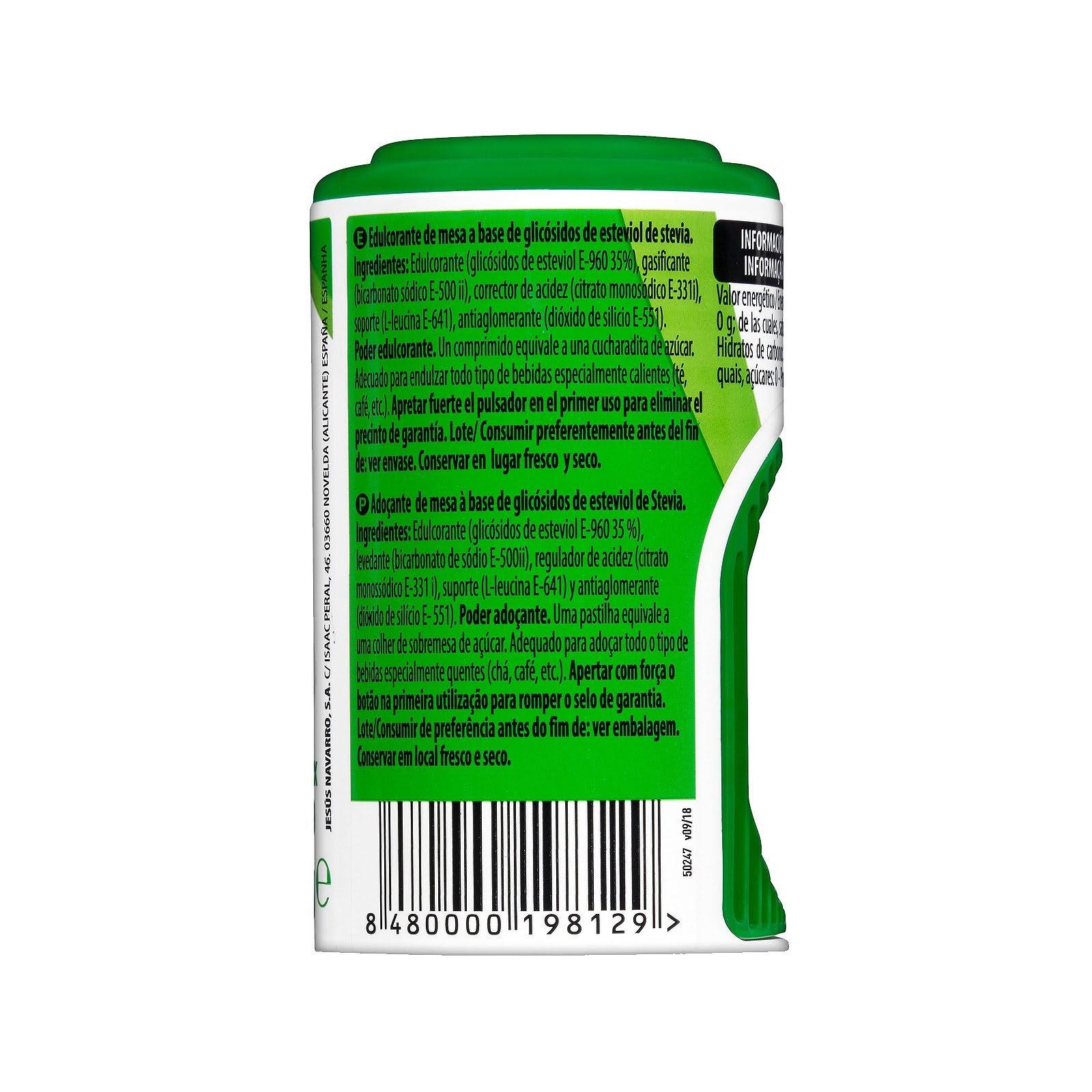 Edulcorante de stevia en pastillas Hacendado