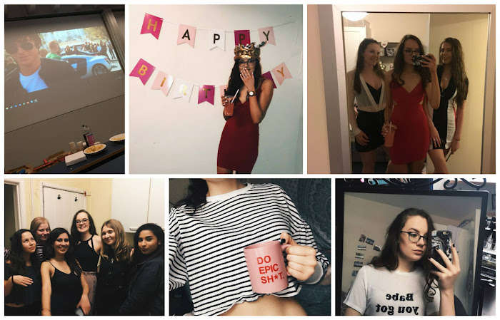 A lifestyle roundup of my week at university featuring all I've bought, watched, eaten, seen and been up to. Featuring my birthday house party