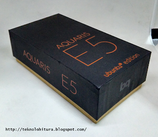 bq aquaris e5 hd ubuntu edition box
