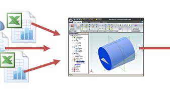 CAD Software Blog: 3D CAD Sheetmetal using Excel in Geomagic