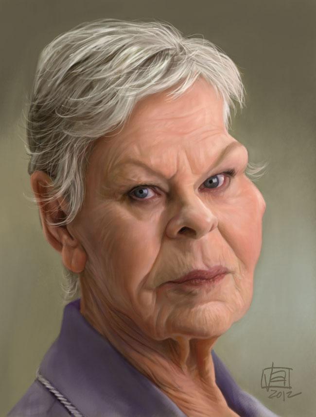 ALTAMORE UNABASHED: Dame Judi Dench