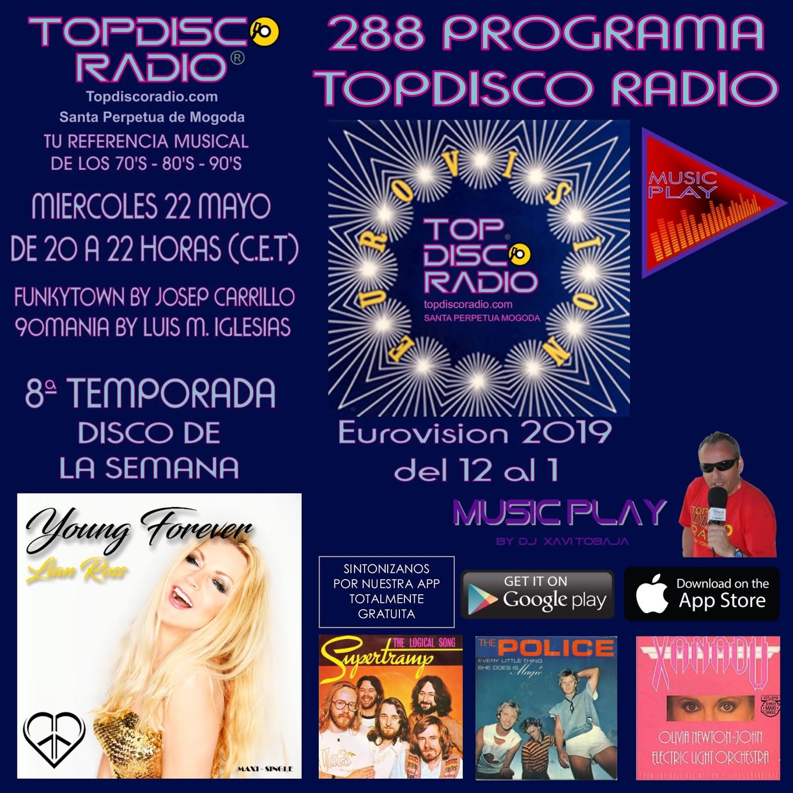 288 Programa Topdisco Radio