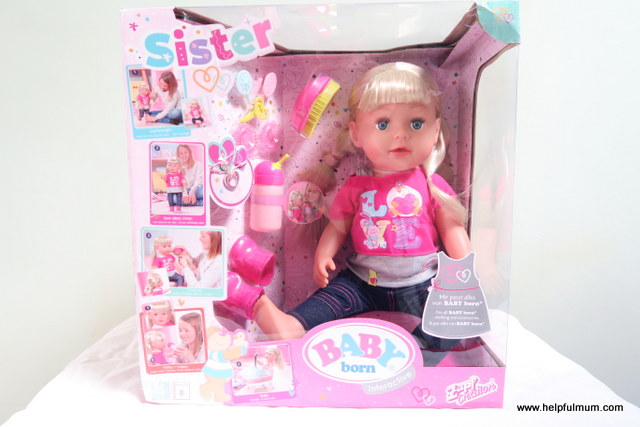 Baby Born Sister Interactive Doll