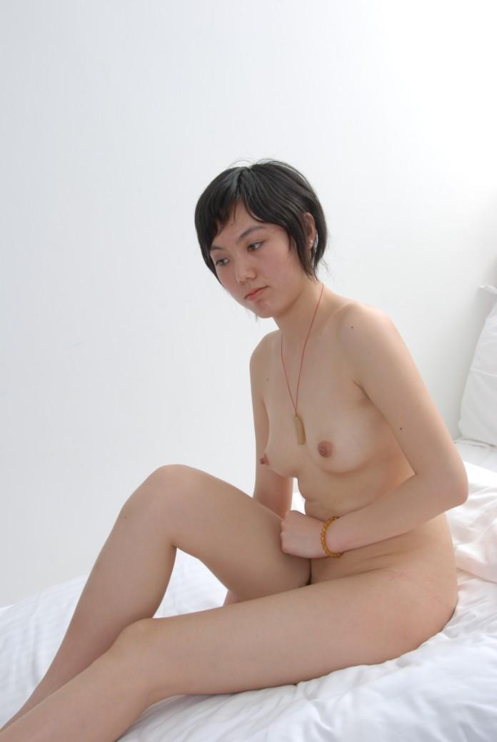 Laotian nude woman