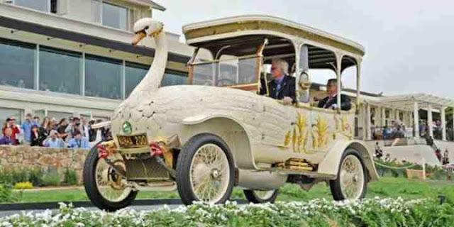 mobil brooke swan car