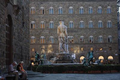 Neptune fountain in Piazza della Signoria