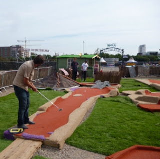 Crazy Golf in London - the Golf Apocalypse