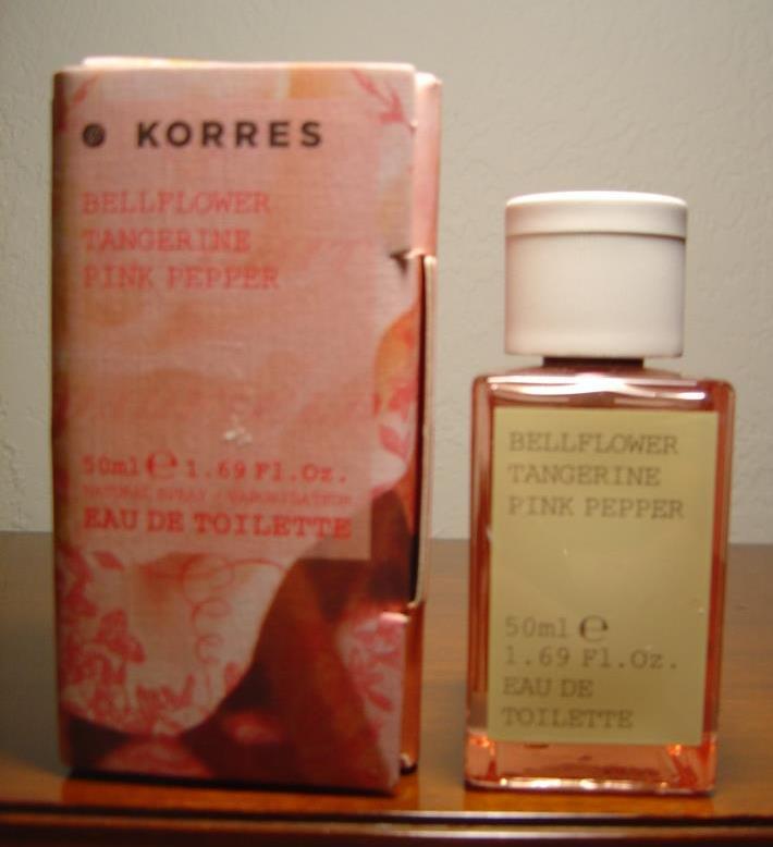 Korres Bellflower Tangerine Pink Pepper Eau de Toilette