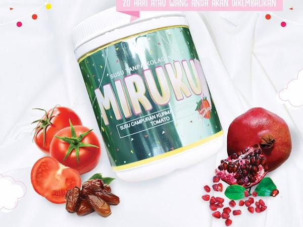 Susu Miruku : Dah la sedap rasa strawberry, elok untuk kulit pulak tu!