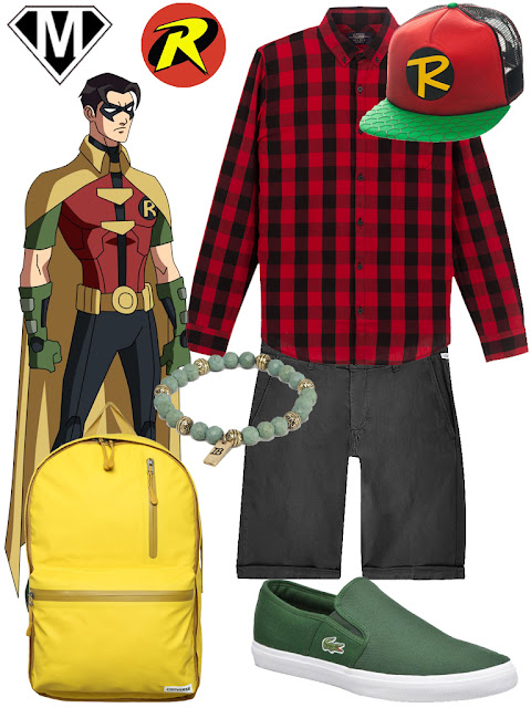 disneybound batman robin geek
