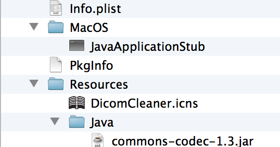 David Clunie's Blog: Keeping up with Mac Java - Bundling into