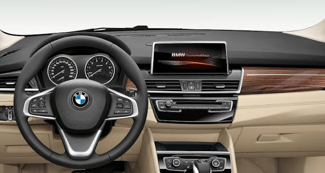 Cars: BMW 2 Series iPerformance Interior