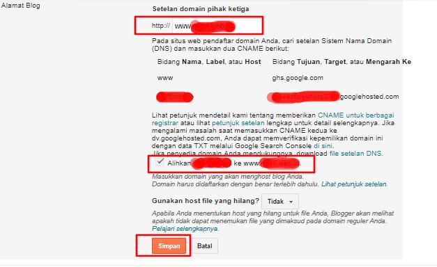 Cara Menghubungkan Domain ke Blogspot Menggunakan Cloudflare