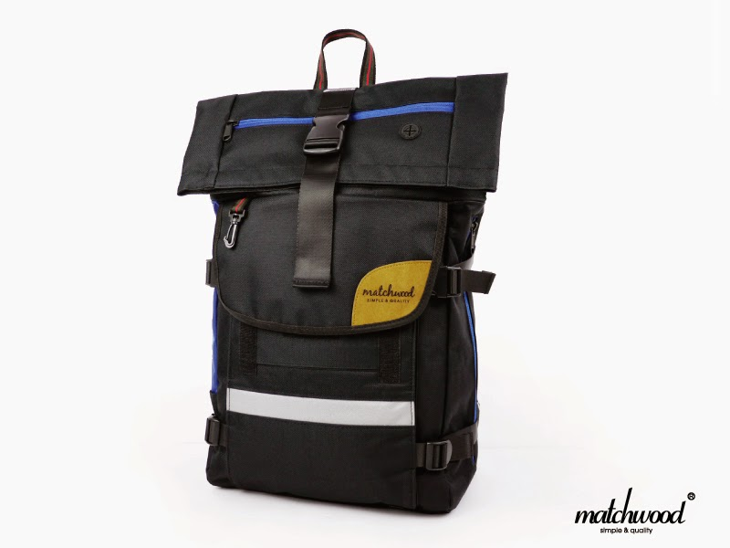 Matchwood Wood Design Matchwood Rider Waterproof Notebook Backpack ... 7d5dfb2db8641