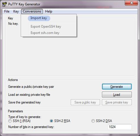 the Digital me: Convert Amazon EC2 PEM files to PPK