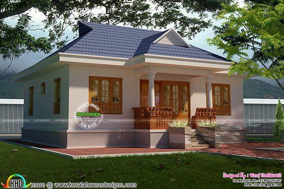 Cute little Kerala traditional Home