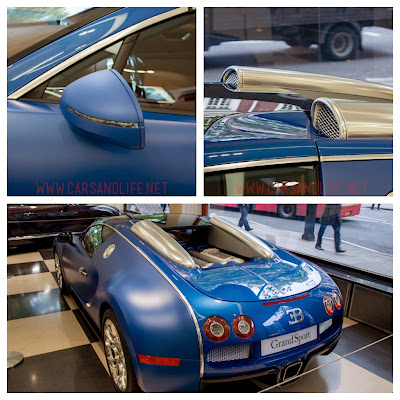 Bugatti Veyron Grand Sport | Blue in Matte and Metallic