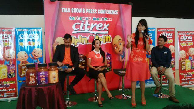 Launching Citrex Upin&Ipin Suplemen Makanan Untuk Anak