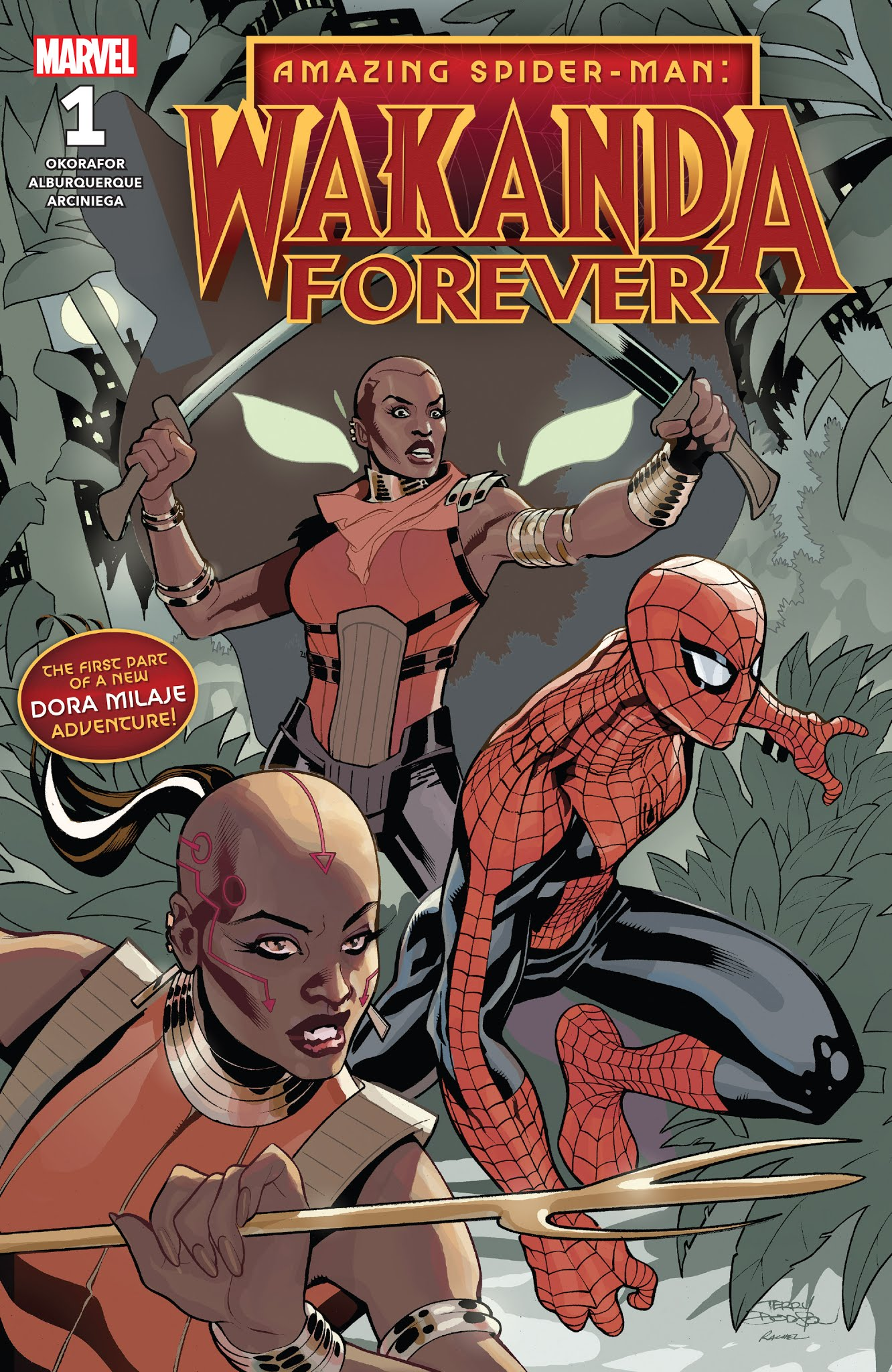 Amazing Spider-Man: Wakanda Forever 1 Page 1