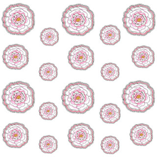 Free Doodle Flower Pattern