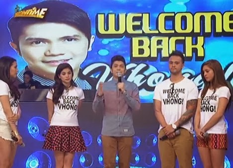 Vhong Navarro makes tearful comeback on 'It's Showtime'