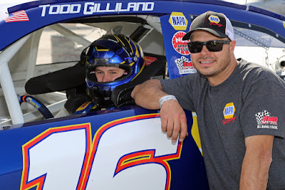The Gillilands Team Up in the KBM #4 #NASCAR Camping World Truck