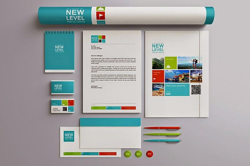 Stationery Presentation Mock Up PSD Template
