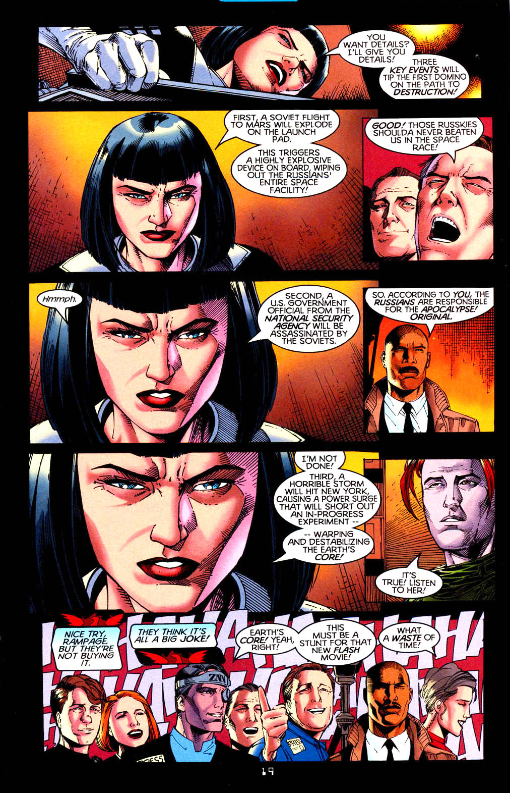 Read online Tangent Comics/ Doom Patrol comic -  Issue # Full - 20