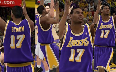 new arrival 57606 9370a NBA 2K12 LA Lakers and Retro Jersey Patch V2 - NBA2K.ORG