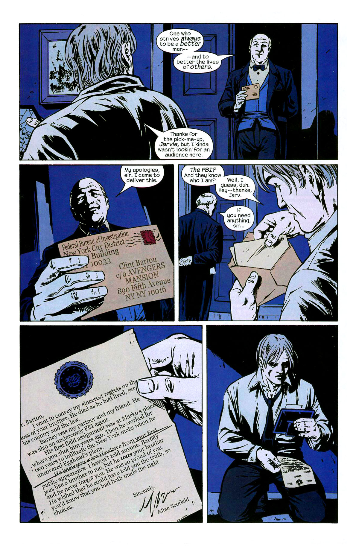 Hawkeye (2003) Issue #6 #6 - English 4
