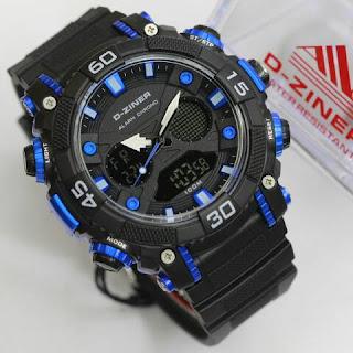 Warna hitam biru