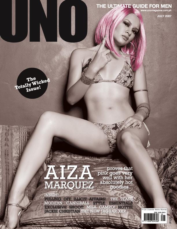 aiza marquez sexy 2007 uno magazine scans 01