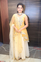 Nivetha Thamos in bright yellow dress at Ninnu Kori pre release function ~  Exclusive (58).JPG