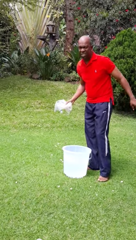 Bob Collymore Also Takes the Ice Bucket Challenge