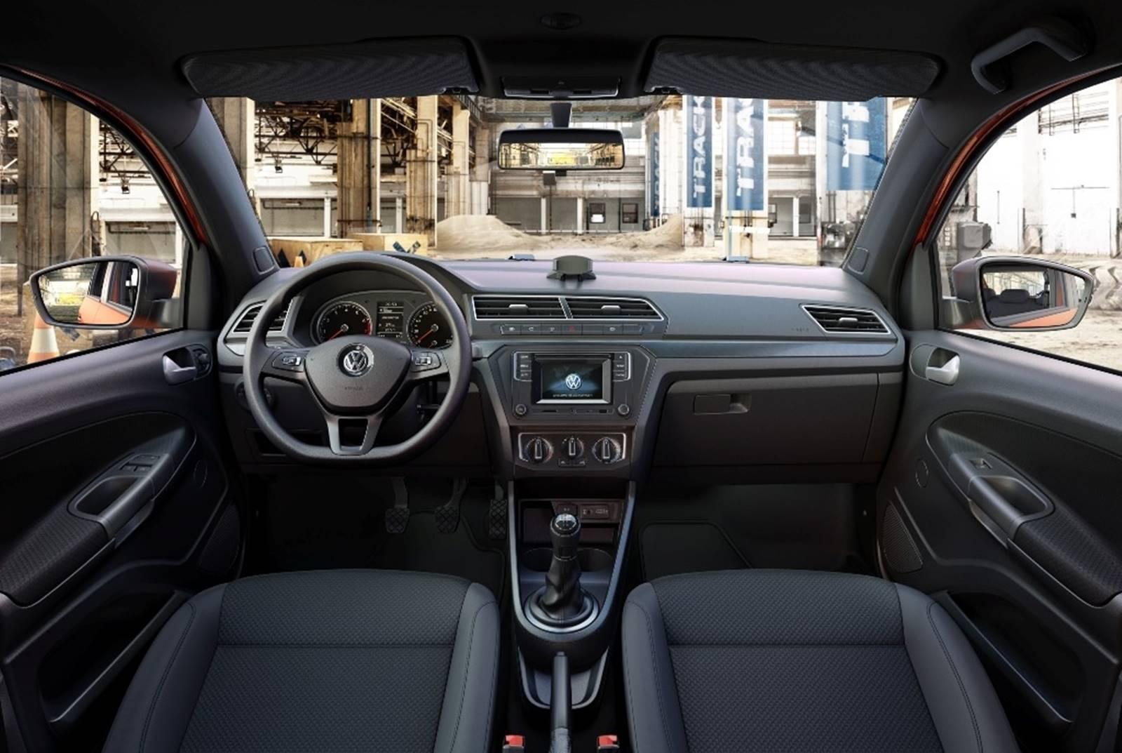 Volkswagen gol track 2017 fotos e especifica es oficiais for Interior gol trend 2018