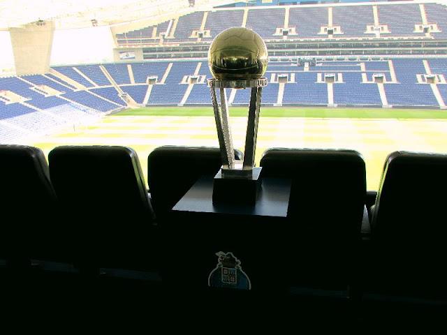 Taça de Campeão no Estádio do FC Porto