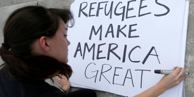 US President Donald Trump bans citizens of seven Muslim-majority countries