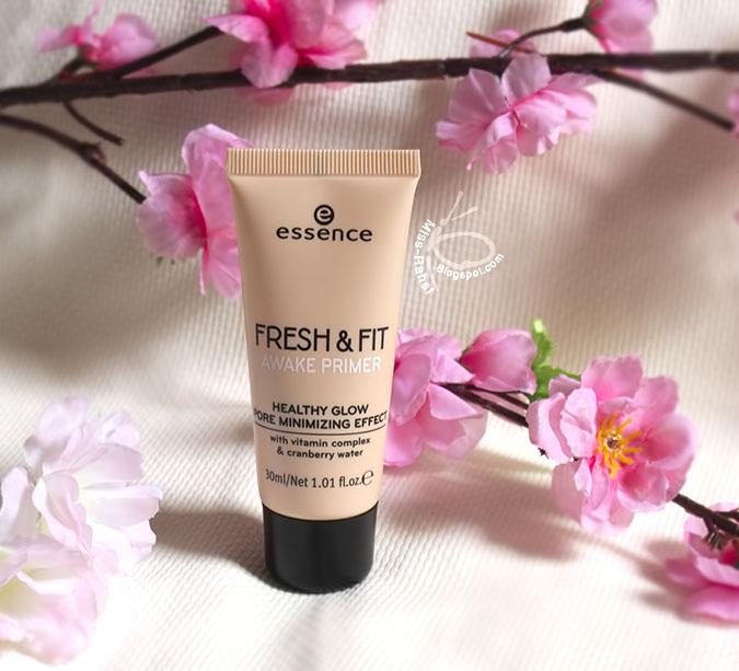 ريفيو برايمر ايسنس فريش Essence Fresh Fit Awake Primer Review