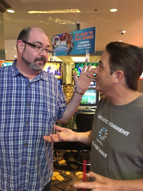 Eric Rosenthal, Scott Roeben, Vital Vegas, Vegas, the D