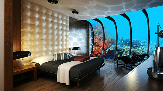 Poseidon Resort Fiji - suite underwater