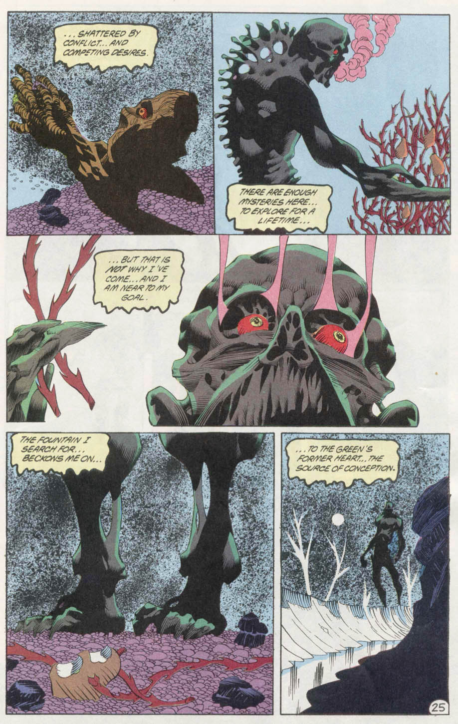 Swamp Thing (1982) Issue #100 #108 - English 24