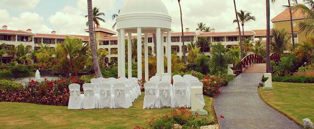 Dominican Republic Wedding Venues Paradisus Palma Real Resort