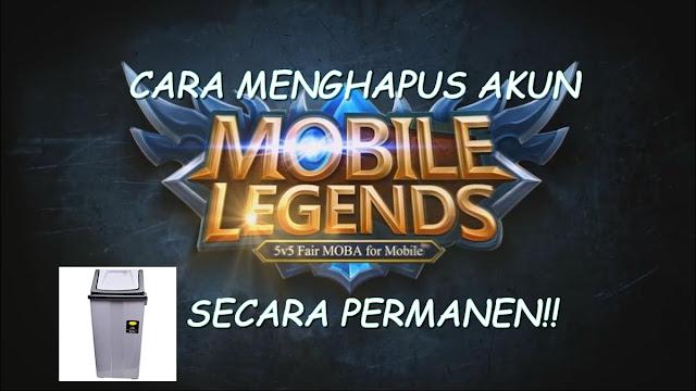 Cara Menghapus Akun Mobile Legends Secara Pemanen