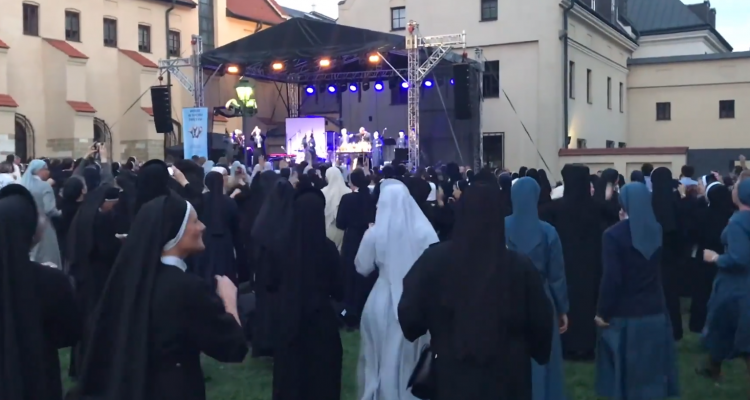 Incredible Footage Depicts Nuns Raving To Hardcore Dance Music
