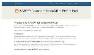 xampp-start-page