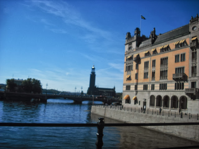 Walking tour in Stockholm, Sweden