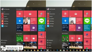 Cara Mengaktifkan Efek Blur Background di Start Menu Windows 10
