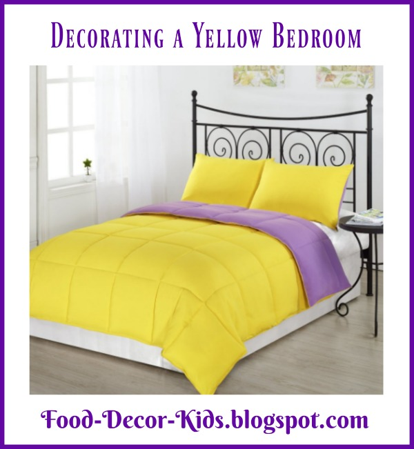 Food decor kids decorating a yellow bedroom - Food in the bedroom ideas ...