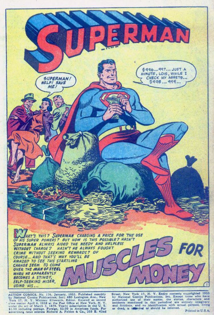 Read online Action Comics (1938) comic -  Issue #176 - 3